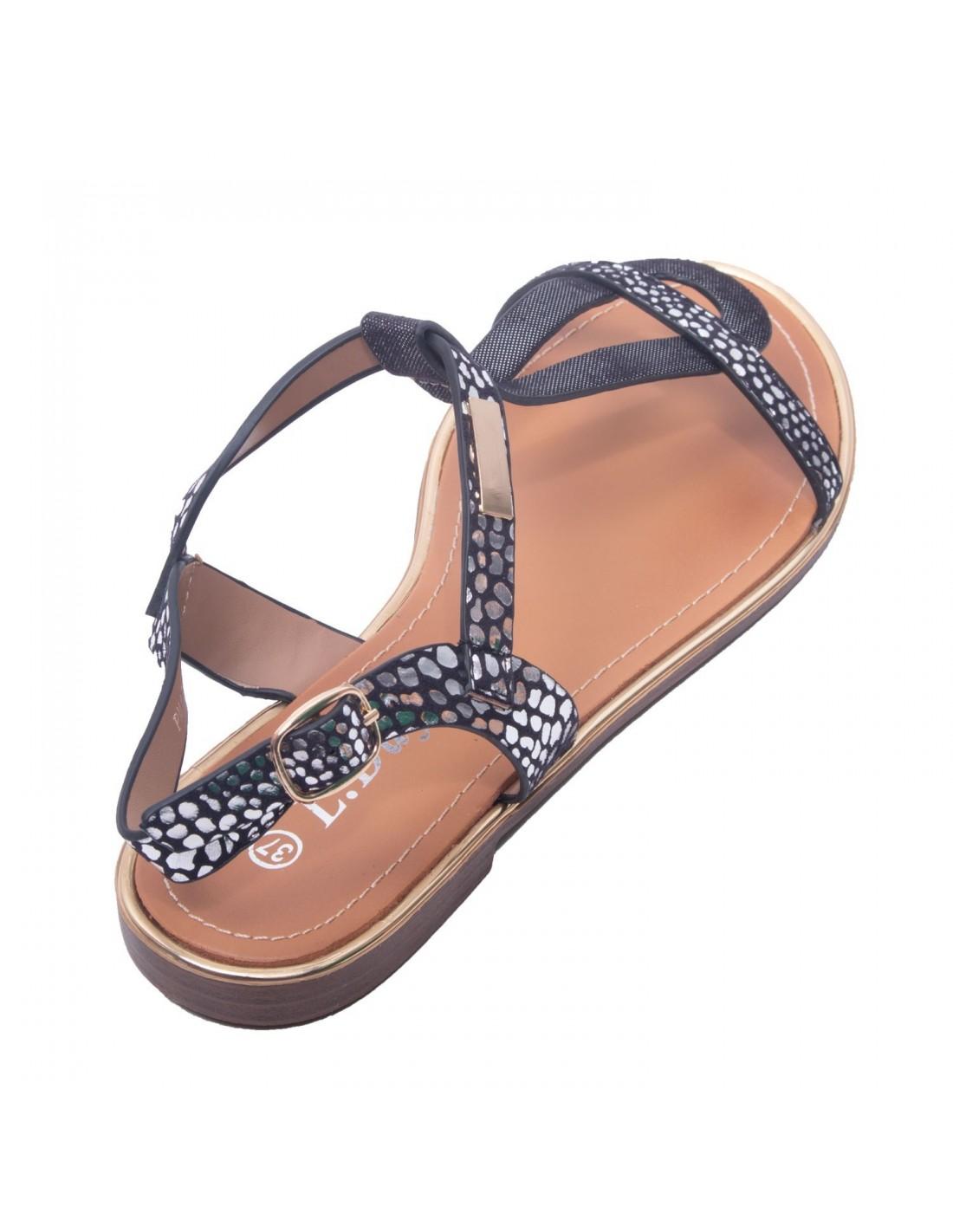 Sandales à talon carré en simili cuir blanc