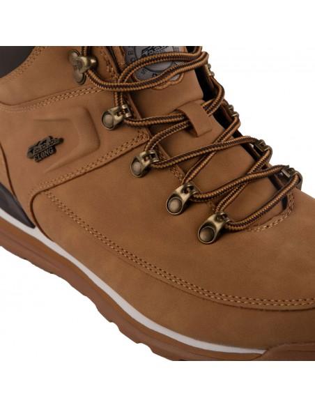 Chaussures homme camel montante à lacets