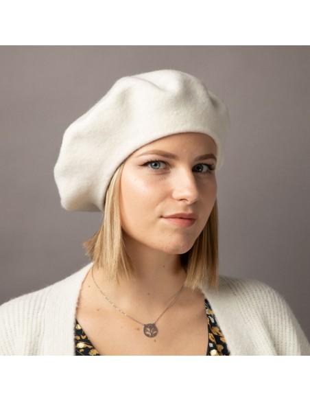 Béret femme en laine taille unique accessoire de mode tendance