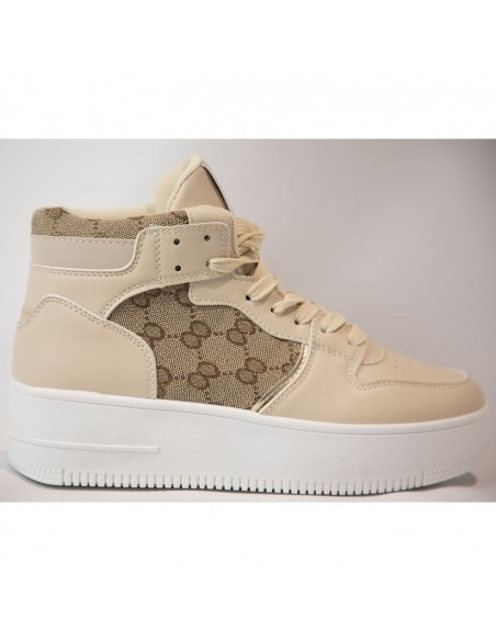 Baskets sneakers montantes...