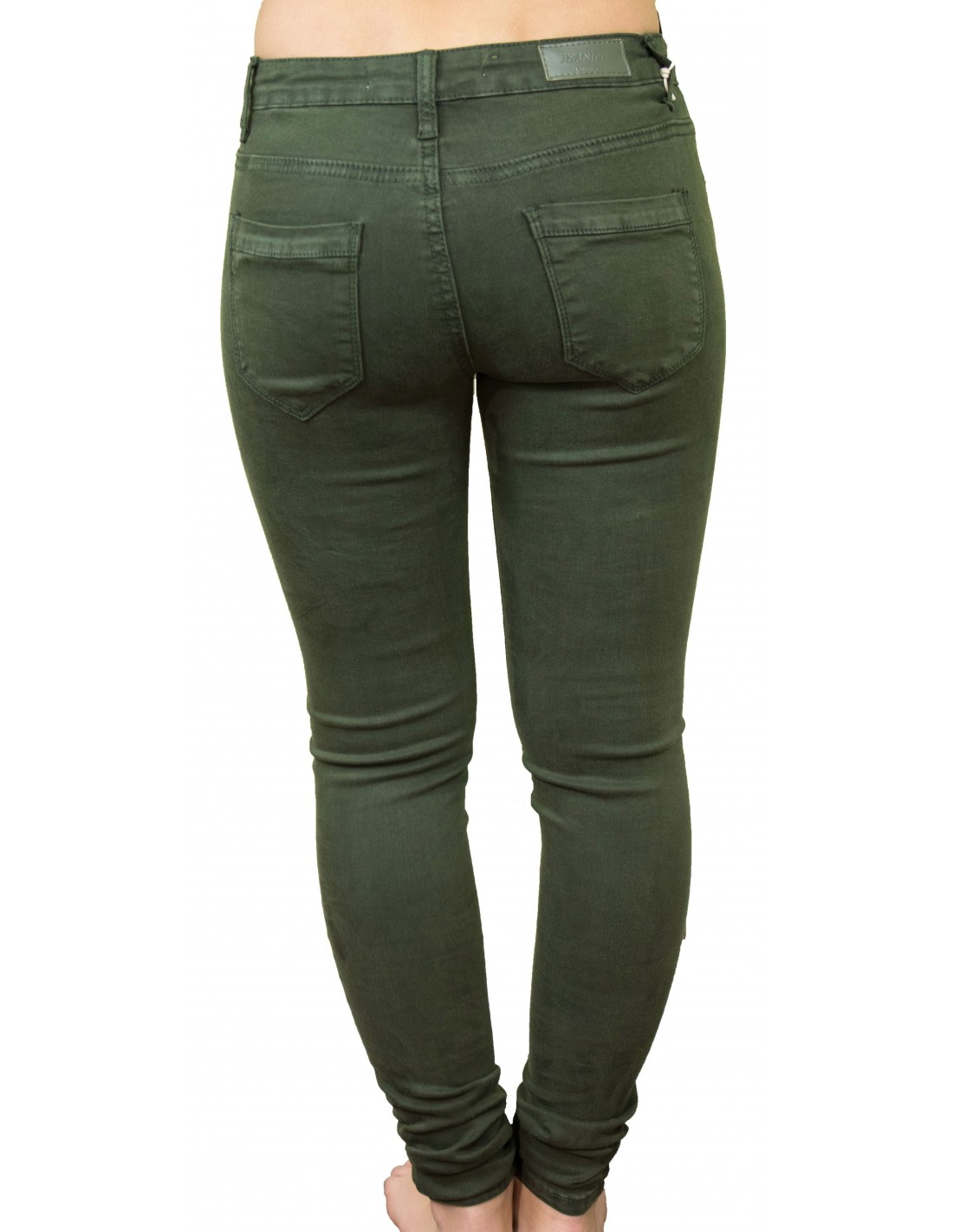 a907c2e50c29 jean femme vert kaki