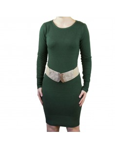 Robe pull aspect laine douce manches longues divers couleurs
