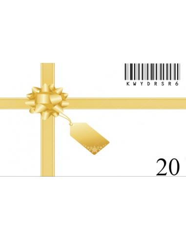 Carte Cadeau 20€