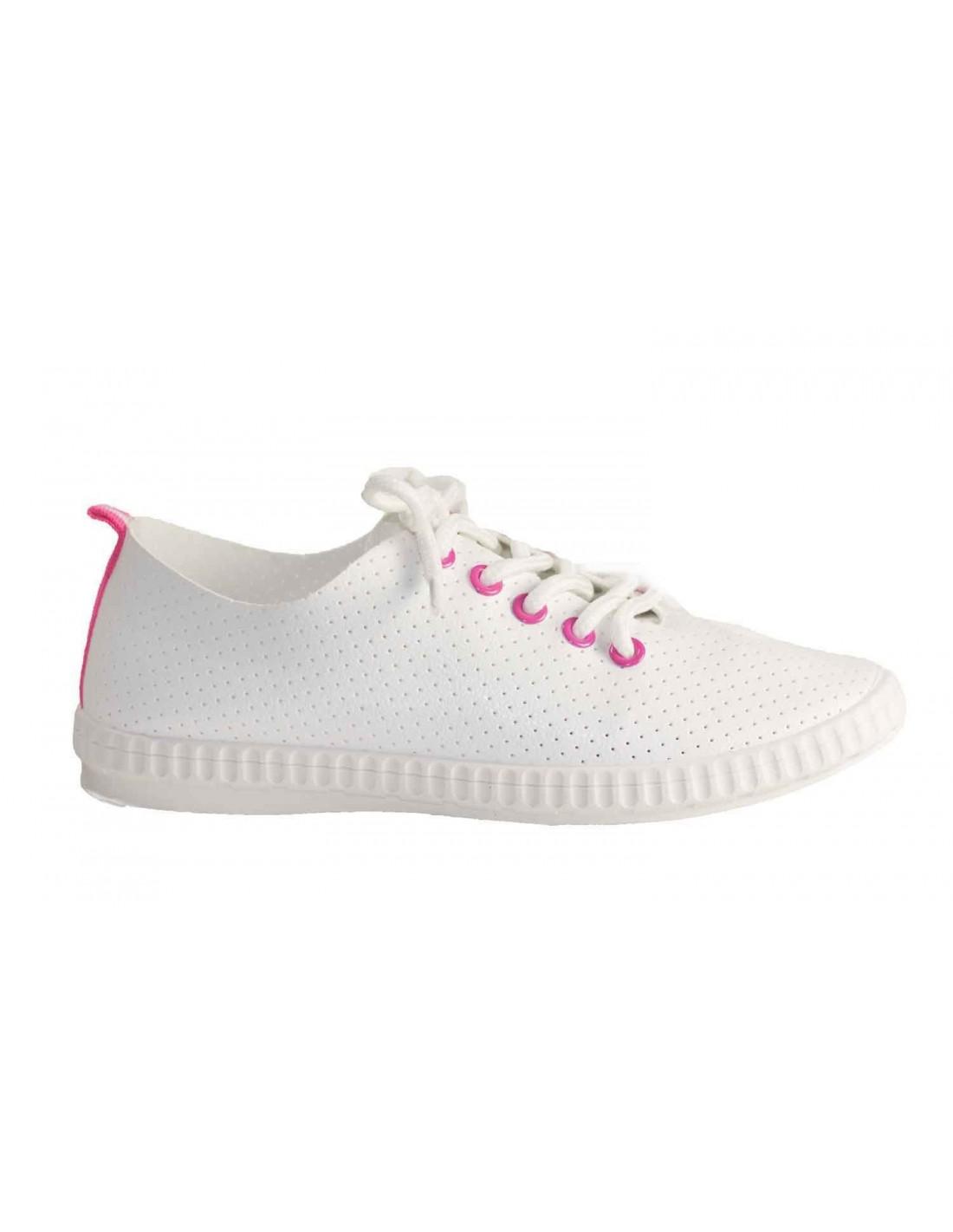 Aspect Baskets Sneakers Légères Cuir Femme Souple POkZiXu