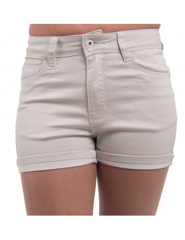 Short en jean femme taille haute & stretch divers coloris