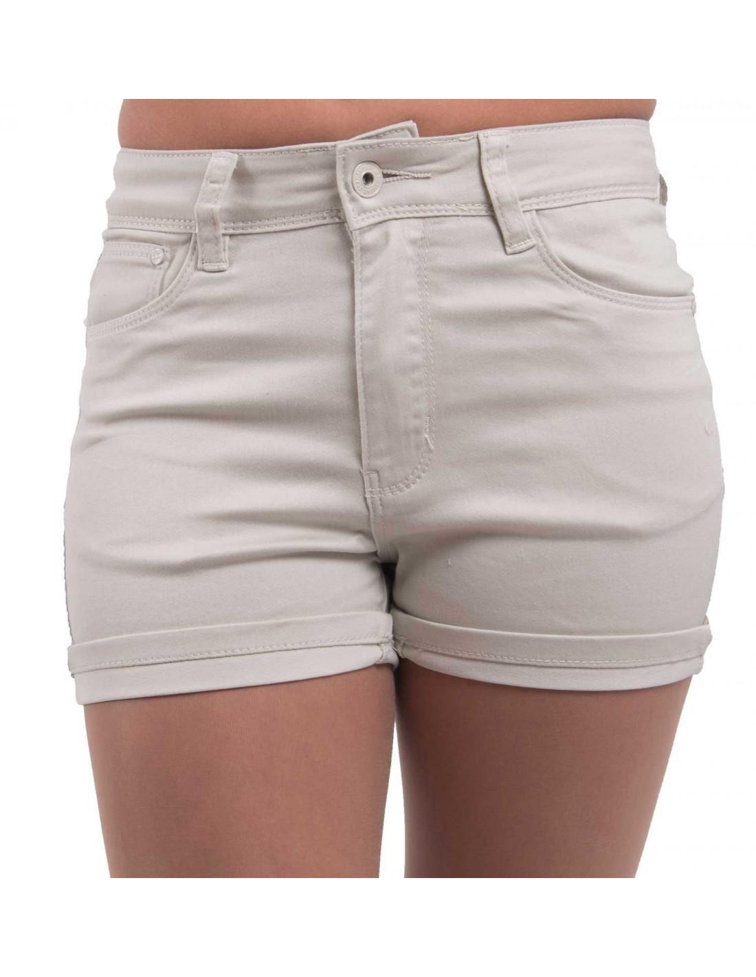 Short en jean femme taille haute   stretch divers coloris ... 221022673d7