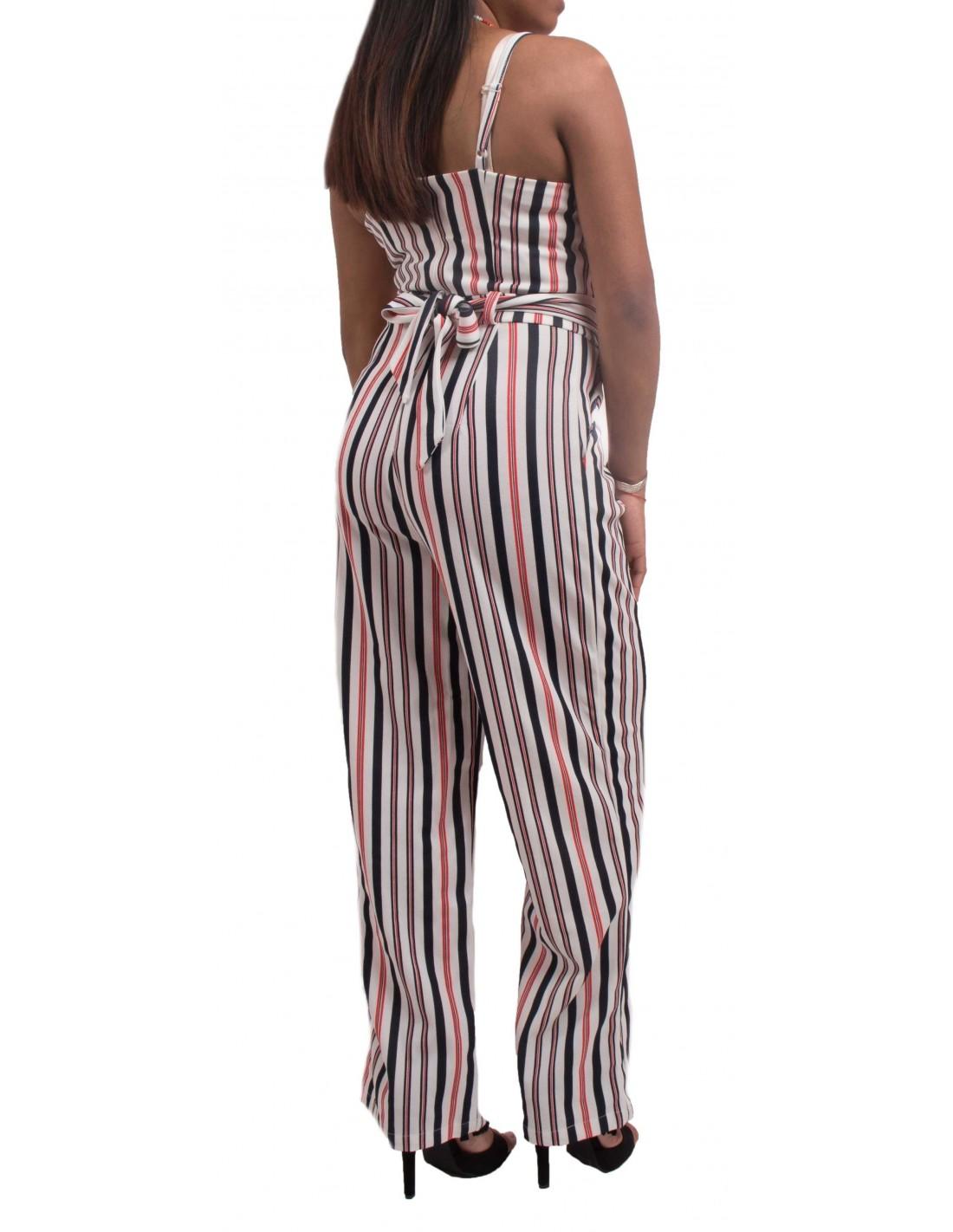 variété de dessins et de couleurs choisir le dernier convient aux hommes/femmes Combinaison femme à rayures type combinaison pantalon sexy d'été