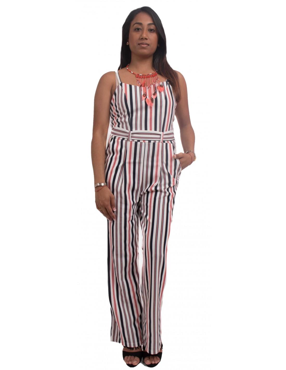 combinaison femme rayures type combinaison pantalon sexy d 39 t. Black Bedroom Furniture Sets. Home Design Ideas