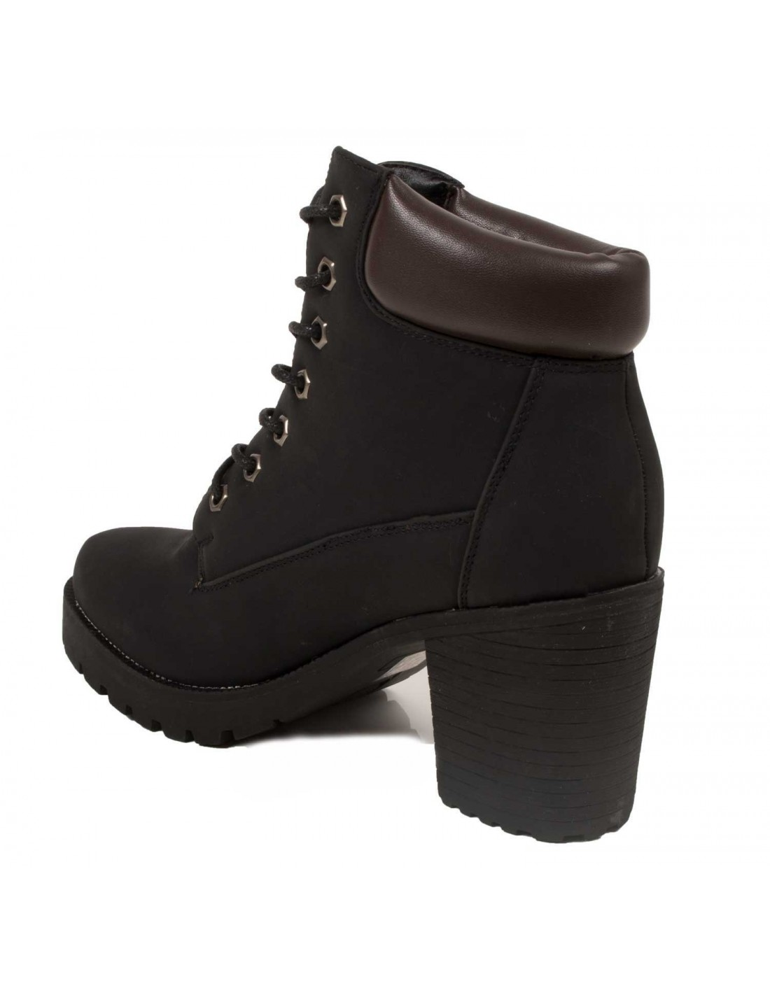rangers femme talon style boots lacets. Black Bedroom Furniture Sets. Home Design Ideas