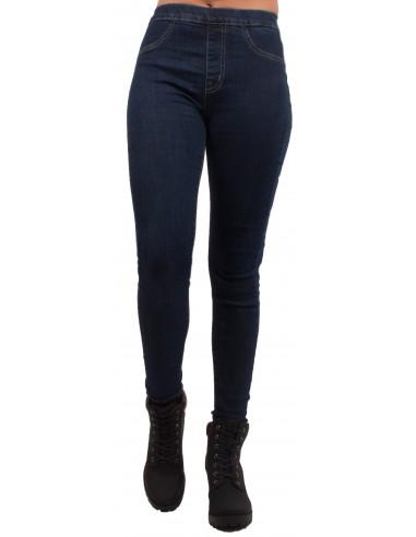 62b206ba4fd0e Jean femme forme jegging taille haute élastique coloris jean brut