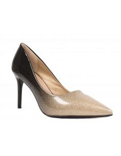 Escarpins paillette dégradé verni - Chaussure de soirée femme à talon aiguille
