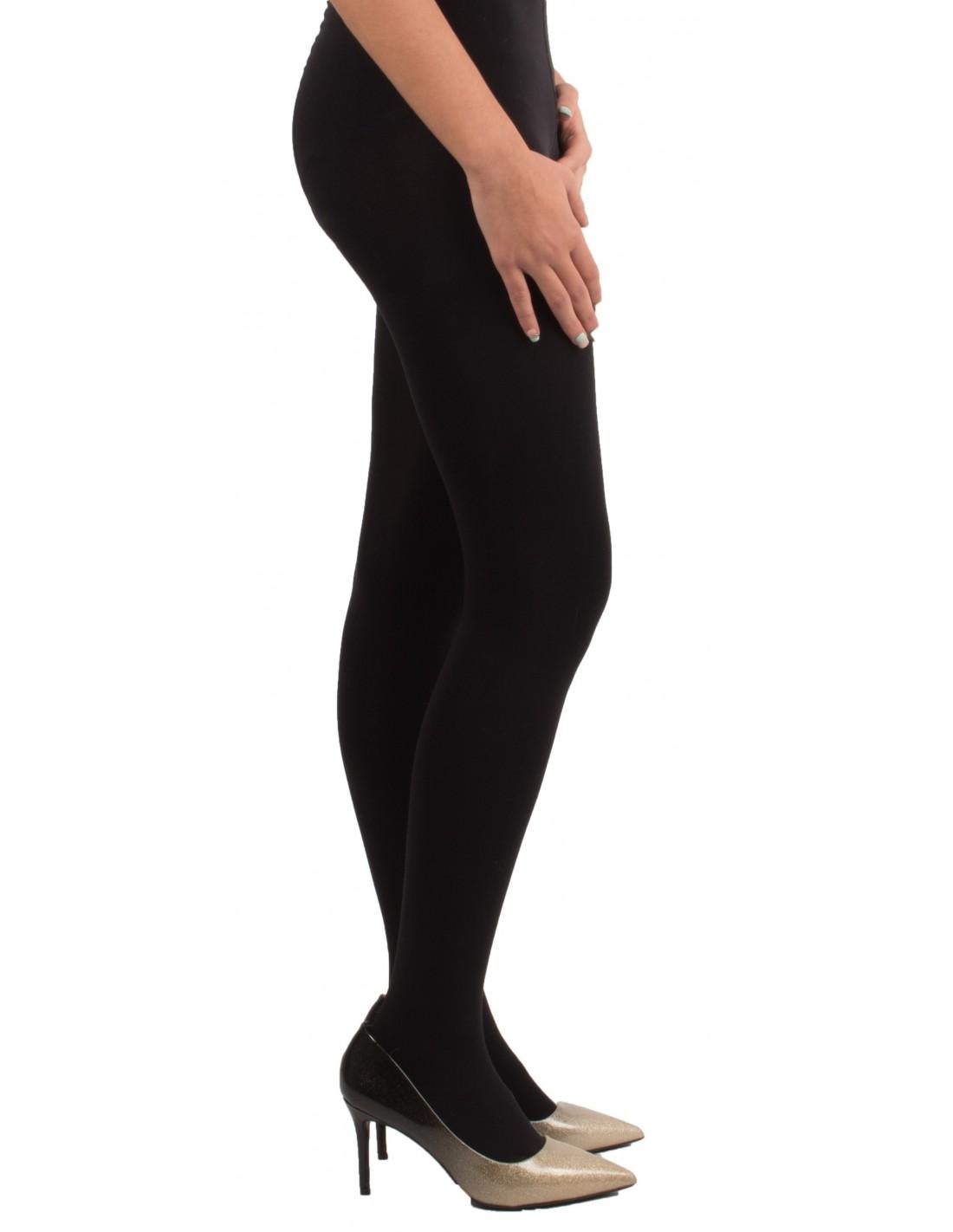 b1570f86512 Collant opaque noir femme 80 Deniers culotte confortable sans couture