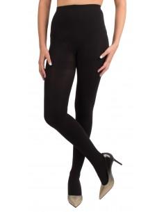 Collant Opaque noir femme 80 DEN confort