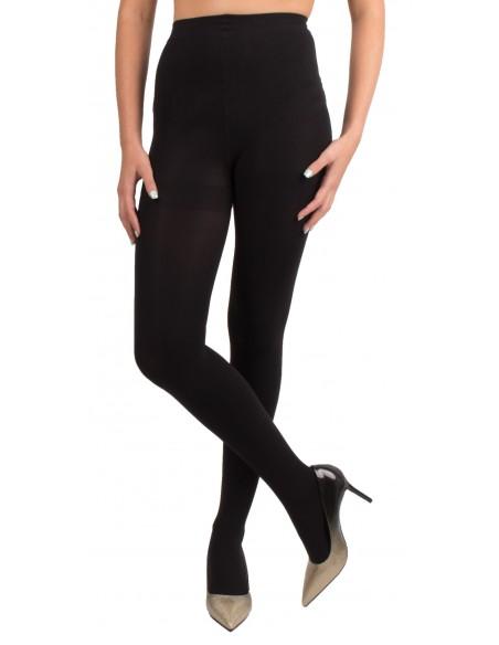 Collant opaque noir femme 80 Deniers confort