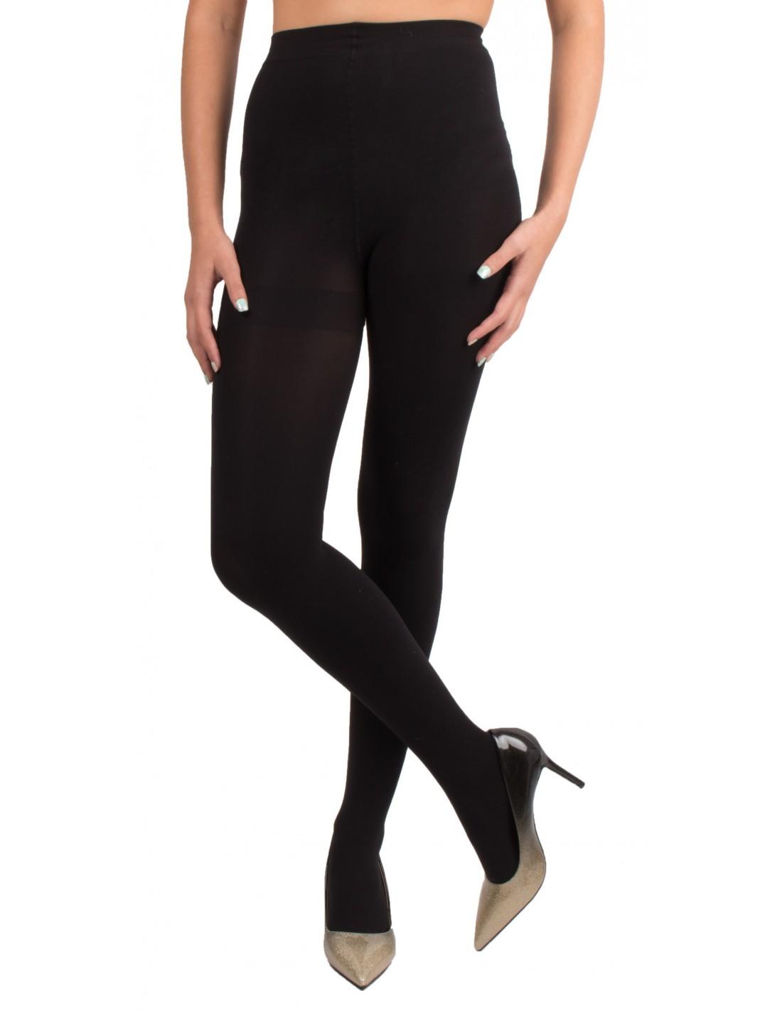 collant opaque noir femme 80 deniers culotte confortable. Black Bedroom Furniture Sets. Home Design Ideas