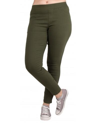 Jegging Grande Taille femme taille haute & matière stretch du 42 au 52