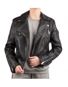 Veste perfecto femme en simili cuir blouson biker du S au XXL